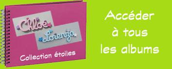 Albums photos prenoms bois