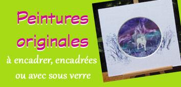 Peintures originales