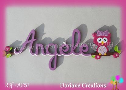 Prenombois angele chouette