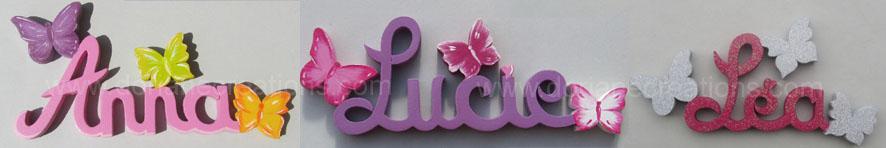 Prenombois com papillons