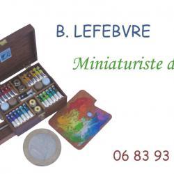 carte de visite miniaturiste