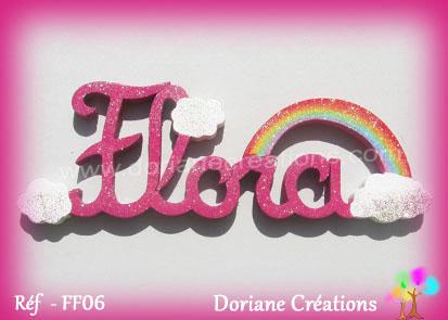 lettres-bois-Flora-arc-en-ciel