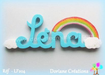 lettres-bois-Léna-arc-en-ciel