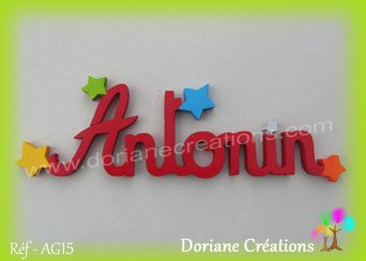 prénom-bois-Antonin-étoiles
