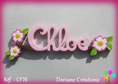 prénom-bois-Chloé- églantines