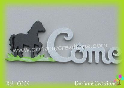Prénom-bois-Côme-cheval