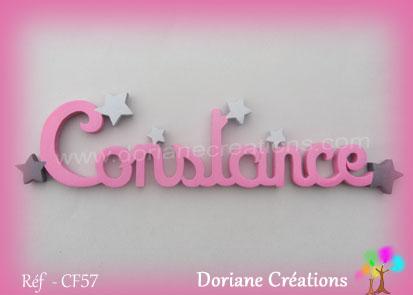 prénom-bois-Constance-étoiles