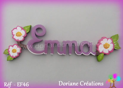 prenom bois Emma églantines