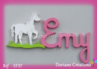 Prénom-bois-Emy-cheval