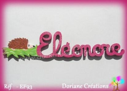 Prenom bois herisson eleonore