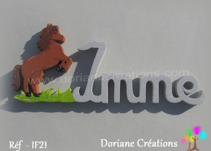 Prénom-bois-Imme-cheval cabré