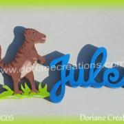 prénom-bois-Jules-T Rex