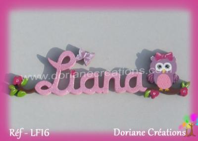 prénom-bois-Liana-chouette