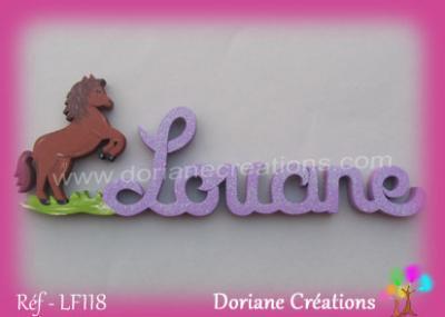 Prénom-bois-Louane-cheval cabré