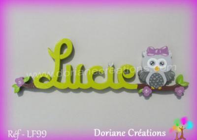 prénom-bois-Lucie-chouette