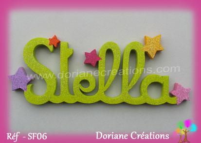 prénom-bois-Stella-étoiles