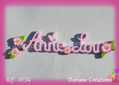 prénom bois Anne-Lou Eglantines