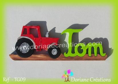 prénom Tom tracteur