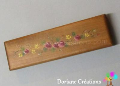 03-Boîte 2 stylos décor petites fleurs