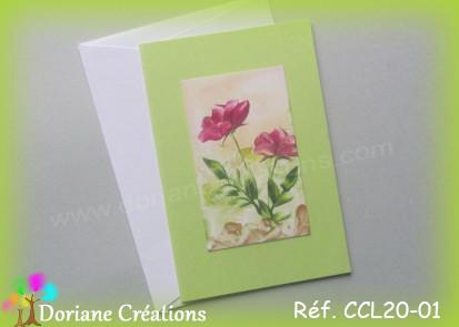 Carte classique peinte a la cire 01