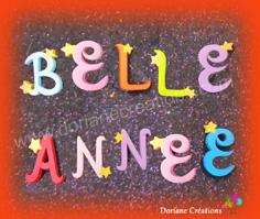 Lettres bois etoiles 1