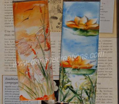 00-Lot de 2 grands marque-pages