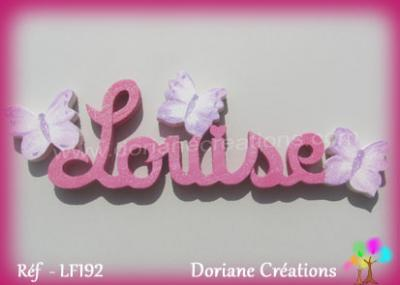 prénom bois Louise