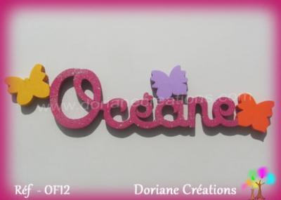 prénom bois Océane - 1