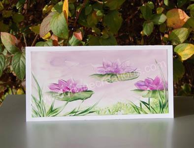 01- Carte panoramique peinte à l'encaustique CP01
