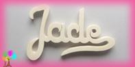 Plaque de porte prenom bois a peindre signature