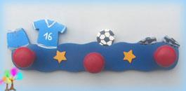 Portemanteau enfant football