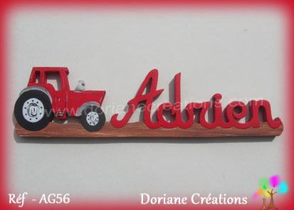 Prenom bois adrien tracteur
