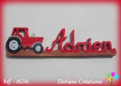 prénom bois Adrien