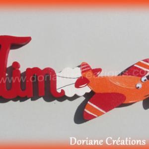 Prenom bois avion 3l