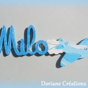Prenom bois avion 4l