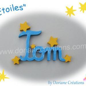 Prenom bois etoiles 3l