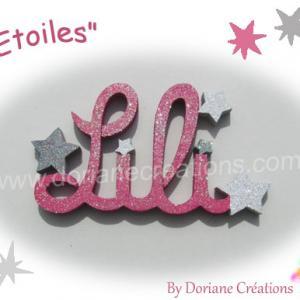 Prenom bois etoiles 4l