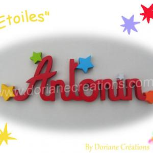 Prenom bois etoiles 7l