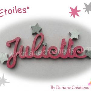 Prenom bois etoiles 8l