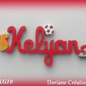 Prenom bois kelyan theme foot