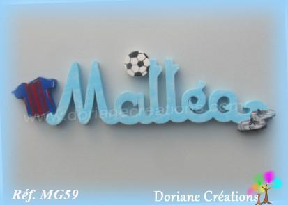 Prenom bois matteo theme foot