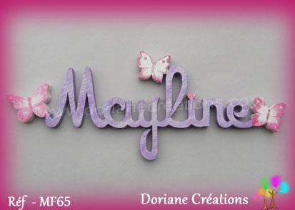 Prenom bois maylinepapillons
