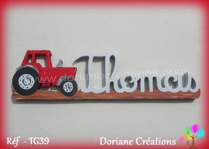 Prenom bois thomas tracteur