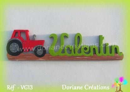 Prenom bois valentin tracteur