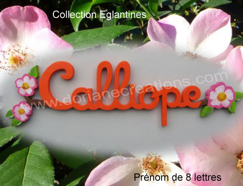 Prenom eglantines 8l 1