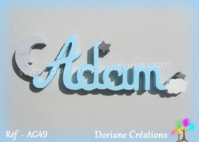 prénom bois Adam
