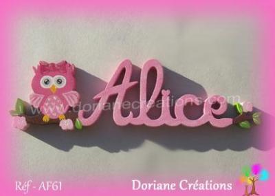 prénom bois Alice