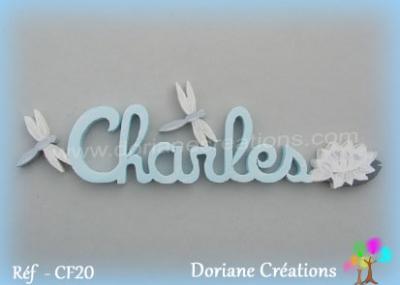 prénom bois Charles