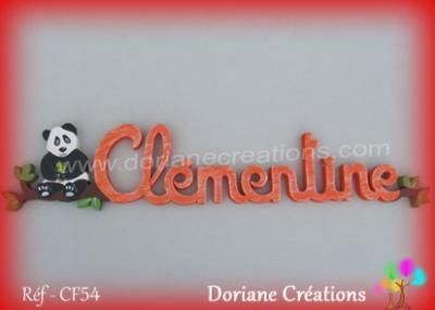 prénom bois Clémentine