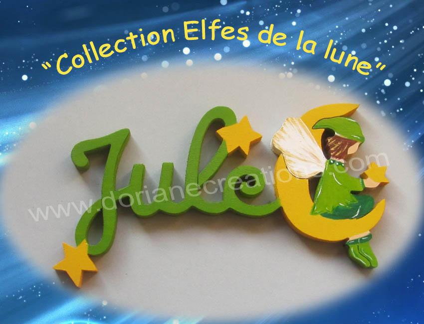 Prenom en bois elfe 4 lettres